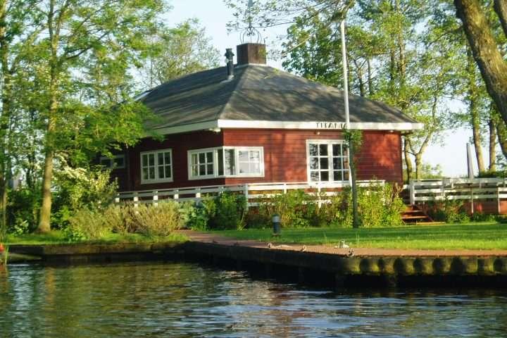 Vakantiewoningen aan het water: Titania
