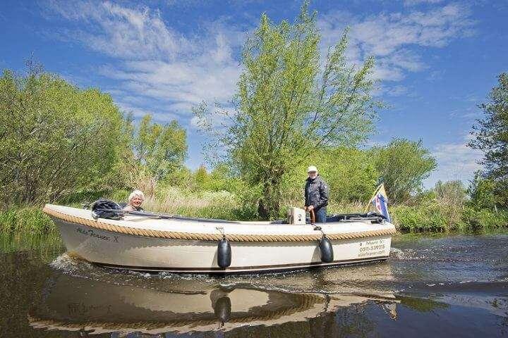 Boot huren Friesland - Varen in Alde Feanen Earnewâld