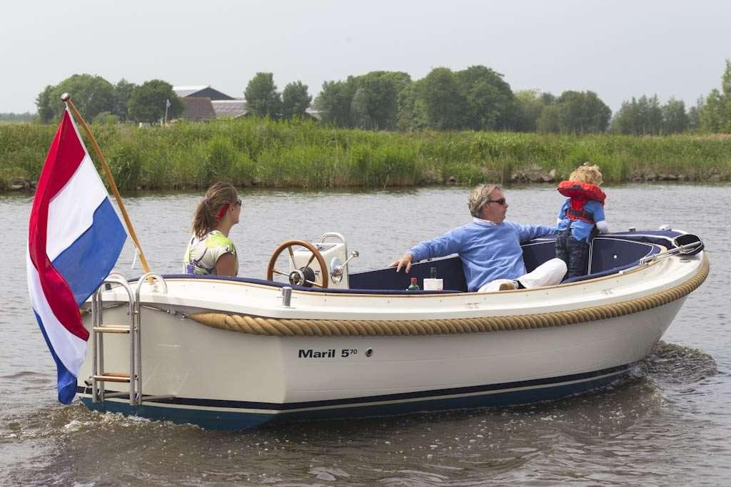 Maril 570 Sloepverhuur Friesland